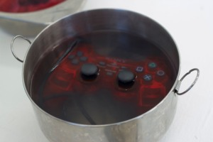 Games controller in borax